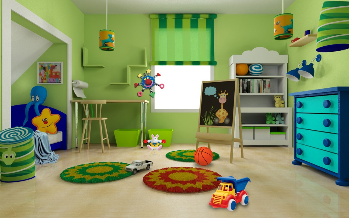 bedroom-kids-bedroom-furniture-cute-green-blue-interior-design-for-kids-room-by-alexandra-constantin-colorful-and-cheerful-kids-room-design-by-ikea-1166x728